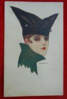 CPA Illustrateur Nanni / Femme - Mode - Chapeau / 1922 - Nanni