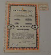 Palermo à Buenos Aires - Actions & Titres