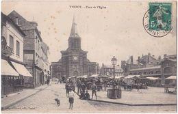 76. YVETOT. Place De L'Eglise (marché) - Yvetot