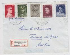 """Niederlande R-Brief Mit Satzfrankatur """"Vor Het Kind""""nach Österreich - Period 1949-1980 (Juliana)"""