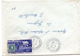 Gironcourt-sur-Vraine 1970 - 88 Vosges - Lettre - Marcophilie (Lettres)