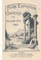 CPA -9500- 25 - Besançon - Souvenir De La Foire De 1923-Envoi Gratuit - Besancon