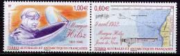 TAAF- AVIATRICE MARYSE HILSZ - JUAN DE NOVA  - 2 V  -NEUF**  -  2012 - Donne Celebri