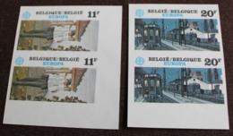 2092/93 'Europa CEPT 1983' - Ongetand In Paar - Zeer Mooi! - Belgique