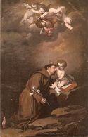 """""""Murillo. San Antonio De Padua"""" Fine Painting, Vintage German Postcard - Tableaux, Vitraux Et Statues"""