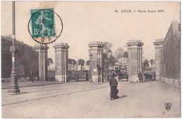 59. LILLE. Porte Louis XIV. 86 - Lille