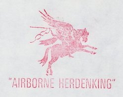Meter Cover Netherlands 1992 Airborne Division Commemoration - Pegasus - Oosterbeek - Seconda Guerra Mondiale