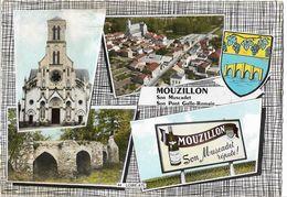 MOUZILLON - Vues - Blason - Sonstige Gemeinden