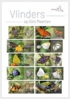ST. MAARTEN 2019 VLINDERS BUTTERFLIES PAPILLON MNH ** VERY FINE - Curazao, Antillas Holandesas, Aruba
