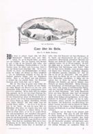 560-3 C. Bindel Sellagruppe St. Ulrich Dolomiten Artikel Mit 13 Bildern 1905 !! - Libri, Riviste, Fumetti