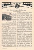 565-2 Robert Grohmann Fünffingerspitze Dolomiten Artikel Mit 5 Bildern 1903 !! - Libros, Revistas, Cómics