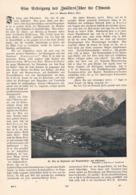 566-2 Martin Bollert Zwölfer Zsigmondyhütte Dolomiten Artikel Mit 3 Bildern 1903 !! - Libros, Revistas, Cómics