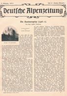 569 Hans Seyffert Santnerspitze Seis Dolomiten Artikel Mit 4 Bildern 1902 !! - Libri, Riviste, Fumetti