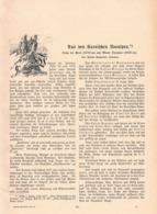 570 Rudolf Reschreiter Karnische Voralpen Carniche Artikel Mit 5 Bildern 1904 !! - Libri, Riviste, Fumetti