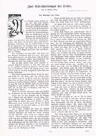 572 J. Geißler 2 Überschreitungen Ortler Ortles Artikel Mit 7 Bildern 1904 !! - Italia
