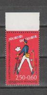 FRANCE / 1993 / Y&T N° 2792 ** : Journée Du Timbre (Tati) De Feuille X 1 BdF Haut - Unused Stamps