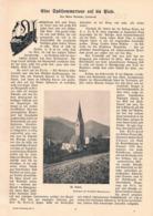 575 Marie Reintaler Plosehütte Brixen Dolomiten Artikel Mit 3 Bildern 1903 !! - Libros, Revistas, Cómics
