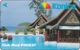 Singapore GPT Phonecard  Konica Club Med Phuket - Singapour