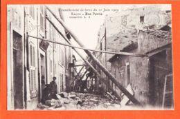 X13773 Rare-Collection L.A- SALON De PROVENCE (13) Rue PONTIS Tremblement De Terre Du 11 Juin 1909 ( Etat PARFAIT ) - Salon De Provence