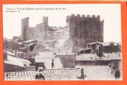 X13775 ( Etat Parfait ) SALON De PROVENCE (13) Vue Du Château Après Explosion De La Tour Tremblement Terre Juin 1909 L.A - Salon De Provence