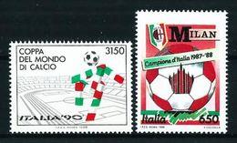 Italia Nº 1782/3 Nuevo - 1946-.. République