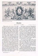 580-3 Doering Klausen Chiusa Südtirol Artikel Mit 3 Bildern 1907 !! - Libri, Riviste, Fumetti