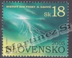 Slovakia - Slovaquie 2005 Yvert 446 International Year Of Physics - MNH - Slovacchia