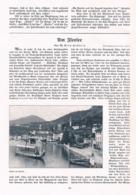 581-2 Girm-Hochberg Iseosee Lago Sebino Artikel Mit 6 Bildern 1907 !! - Italia