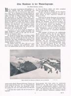 584 Alfred Steinitzer Adamello Presanella Artikel Mit 5 Bildern 1905 !! - Italia