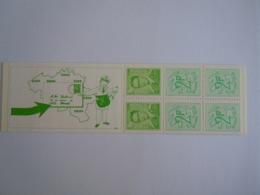 België Belgique 1972 Postzegelboekje Carnet Boudewijn Baudouin Type Marchand Patte Blessée Gekwetste Poot B8-V1 MNH ** - Carnets 1953-....
