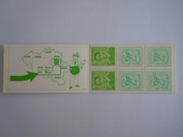 België Belgique 1972 Postzegelboekje Carnet Boudewijn Baudouin Type Marchand Vlek Naast G Tache à Côté Du G B8-V2 MNH ** - Carnets 1953-....