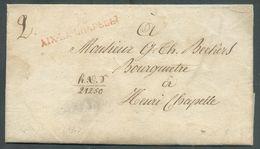 Lettre De 103/AIX-LA-CHAPELLE à Mr. G. TH. BECKIERS BOURGMESTRE à HENRI-CHAPELLE (canton De L'Est). 15679 - 1794-1814 (Période Française)