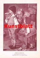 1866 Herm. Kaulbach Schulstunde Kinder Kunstblatt 1898 !! - Estampes