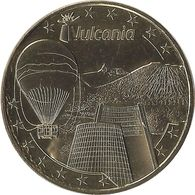 2017 MDP160 - SAINT-OURS -LES-ROCHES - Vulcania 15 (Cône Et Ballon Des Puys) / MONNAIE DE PARIS - 2017