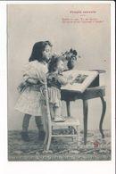 Carte  Poupée Savante ( Style Bergeret ) ( Recto Verso ) - Enfants