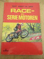 Race En Serie Motoren Indian Ariel Harley Bmw 22 Moto's Lambretta - Sachbücher
