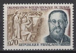 France: 1969. Y&T  N° 1600 ** MNH, Neuf(s). Cote Y&T 2020 : 0,60 € - France