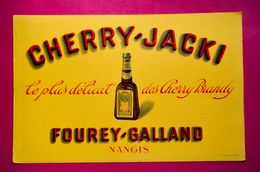 Buvard CHERRY-JACKI, Cherry Brandy - Liqueur & Bière
