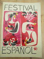 Bruxelles Expo 58 Festival Espanol 18 Blz En Bijvoegsel - Musique