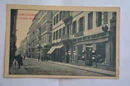 SAINT-ETIENNE-rue De La Republique-ses  Grands Magasins - Saint Etienne
