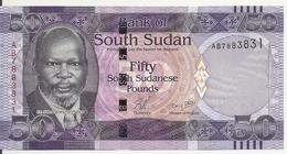 SOUDAN SOUTH 50 POUNDS ND2011 UNC P 9 - Soudan