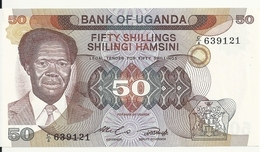 OUGANDA 50 SHILLINGS ND1985 UNC P 20 - Uganda