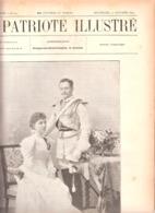 Mariage Duc D'Arenberg-Monument Ponthier-Marche En Famenne-Tzar De Russie à L'Académie Française-Patriote Illustré 1897 - Cultuur