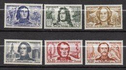 1959-Personnages Célèbres N° 1207 à 1212 ( 6 Valeurs ) ---NEUFS  **-SANS Charnière--gomme Intacte -- Cote 10€..à Saisir - France