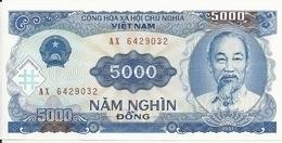 VIET NAM 5000 DONG 1991 UNC P 108 - Vietnam