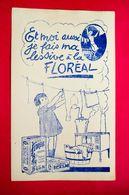Buvard Lessive FLORÉAL - Produits Ménagers