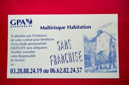 Buvard Assurances GPA Multirisque Habitation - Banque & Assurance
