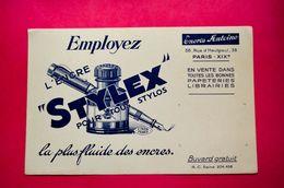 Buvard Encre STYLEX Pour Stylo, Encres ANTOINE - Cartoleria