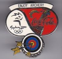 PIN DE COCA-COLA DE LAS OLIMPIADAS DE SYDNEY 2000 - ENJOY ARCHERY - ARCO (COKE) OLYMPIC GAMES - Coca-Cola