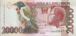 SAO TOME ET PRINCIPE 20000 DOBRAS 2013 UNC P 67 E - Sao Tomé Et Principe